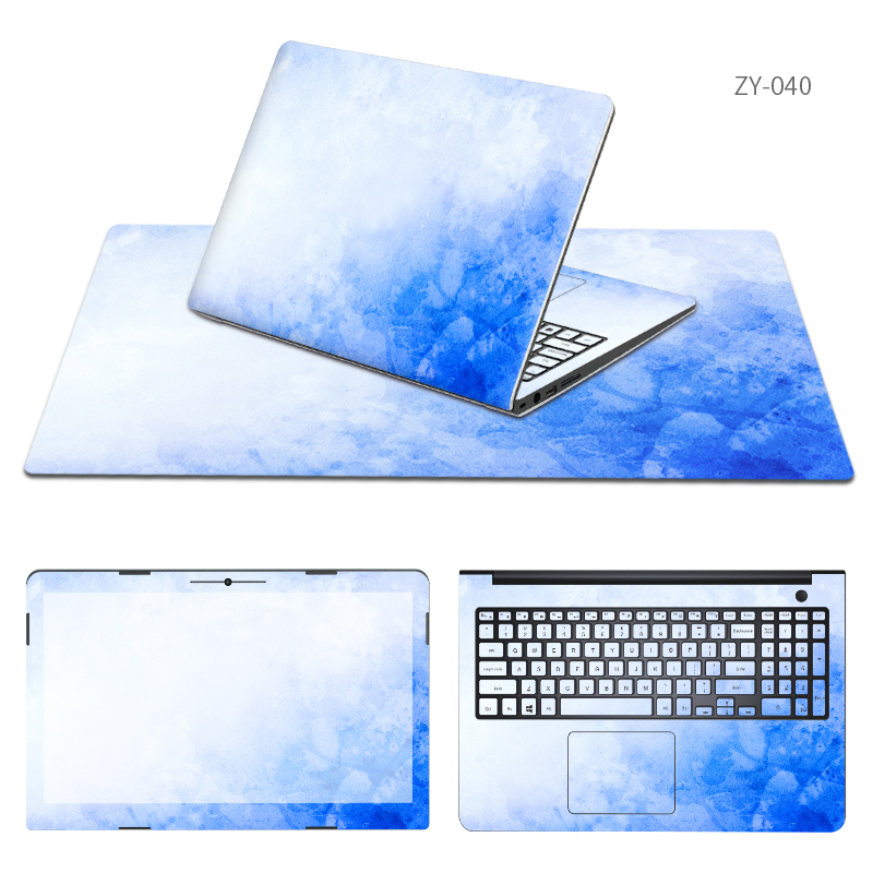 Free Cutting Laptop Sticker and Mouse Pad Sets Skin for Hasee K650D/K660E/K710C/K750S I5 I7 D1 D2 D3/feitian U55C 4572 D31 Cases