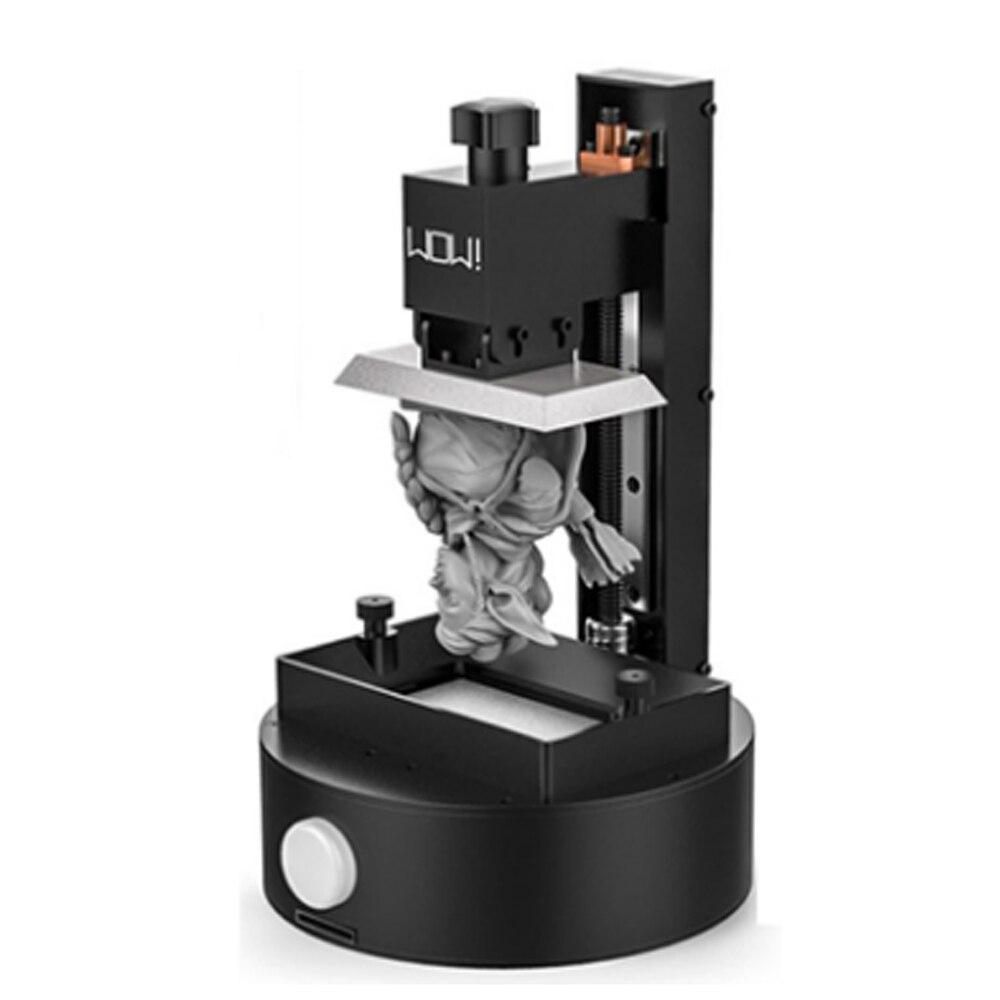 Résine 3d imprimante WOW sparkmaker photopolymérisable résine UV SLA! DLP! Imprimante 3d LCD/expédition express de moscou russe - 2