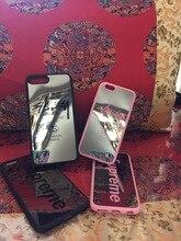 Товары Для iphone Зеркальный шкаф США логотип Бренда Париж Лондон Нью-Йорк ПК для iphone se 5 5s 6 6 s плюс 7 7 ПЛЮС sup крышка принципиально stussy