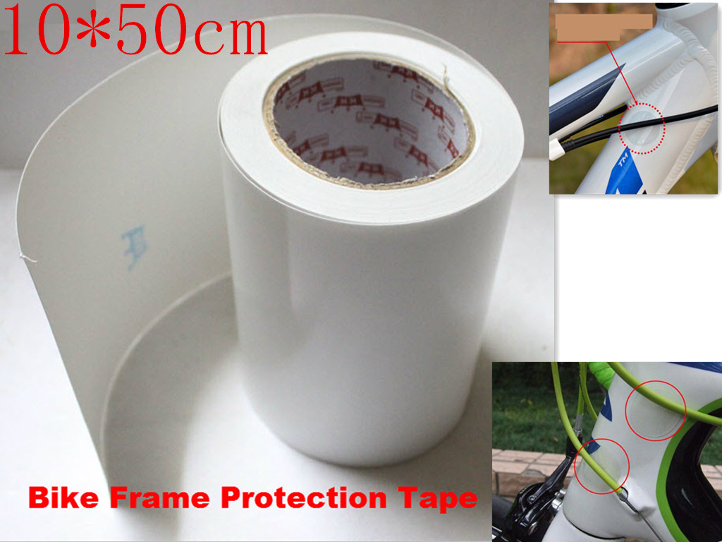 Bike Frame Protector Rhino Skin Stickers Decal Cycling Bike Protected Resistant~