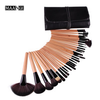 Hign Quality 32Pcs Makeup Brushes Set Pincel Maquiagem Make Up Maquillaje Goat Hair Kit Cosmetic Brush