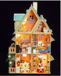 Models Building Toy Model Building DIY House model house