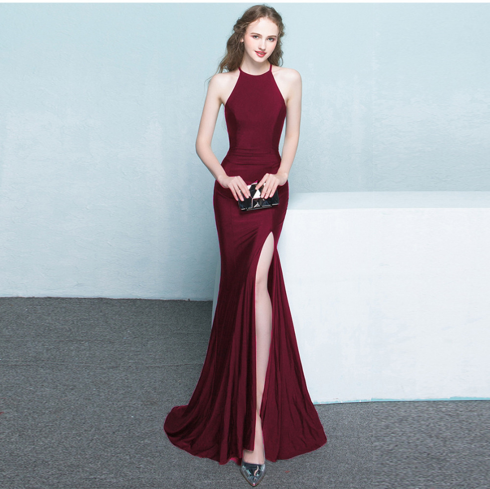 New Style Bridemaid Dresses Mermaid Long Formal Prom Party Reflective Dresses 2020 Robe De Soiree Vestido De Noiva