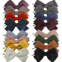 20 pcs/lot, Girls Fabric Bow Headbands or Hair clips, Nylon headbands kids girls hair accessory