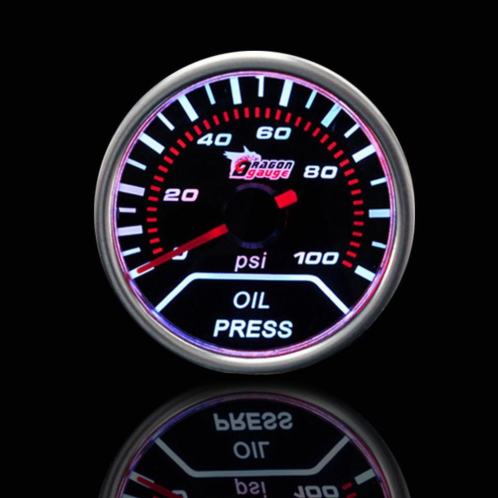 EE support Universal Motor Car Clock Smoke Tint Len 2