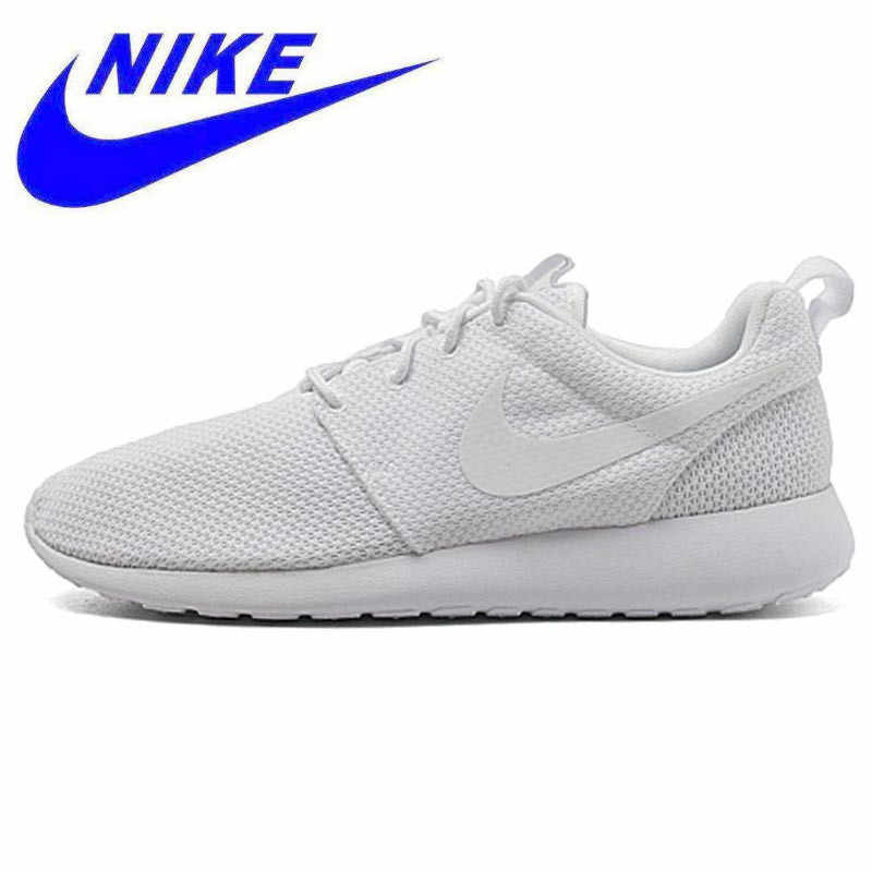 a04962775e99 Original New Arrival Authentic Nike Men s ROSHE RUN Running Shoes Sneakers  Trainers Non-slip