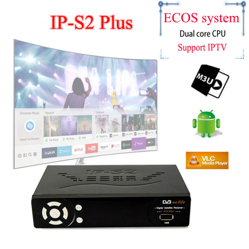 SATXTREM HD IPTV Box IPS2 Plus DVB S2 Satellite TV receiver support Europe iptv 1800+channels Italy/Germany/Nertherlands/French