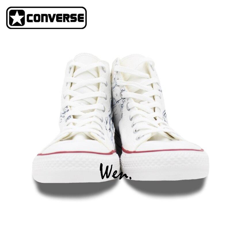 converse haute blanche original