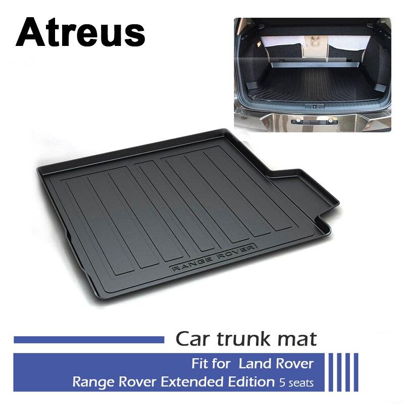 Atreus tapis de coffre de voiture tapis de sol pour Land Rover Range Rover Executive édition prolongée 5 sièges 2013 2014 2015 2016 2017