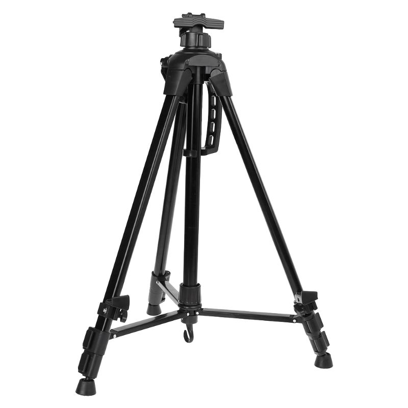 Aluminum Alloy Folding Telescopic Studio Painting Easel Tripod Display Stand Shelf Artist Adjustable