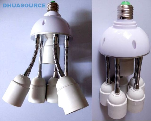1 to 6 e27 lamp base 360 degrees lamp socket led light parts fish 1 to 6 e27 lamp base 360 degrees lamp socket led light parts fish tank octopus aloadofball Choice Image