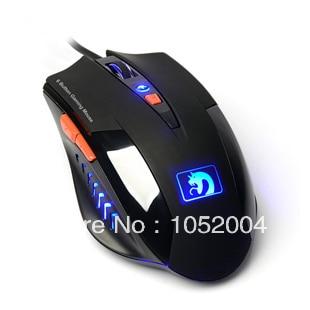Spedizione gratuita! Xinmeng Mamba II 6 Bottoni Mouse Da Gioco M398 USB mouse Led blu mouse per LOL CF DOTA Real Eagles Trading Store