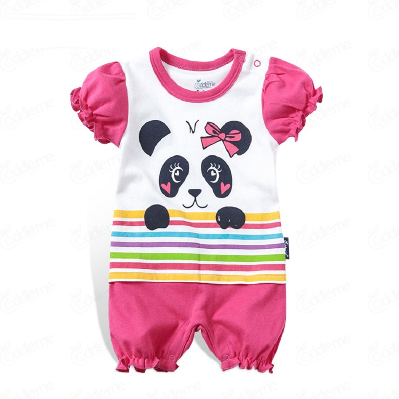 Cartoon Baby Romper Short Sleeve Cute Clothes Baby Girl One Pieces Jumpsuits Roupas De Bebe Infantil Baby Clothing