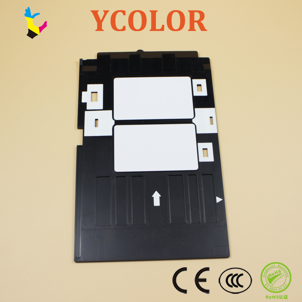 Ink Way 25pcs Pvc Id Card Tray For R260 R265 R270 R280 R290 R380 R390 Rx680 T50 T60 A50 P50 L800 L801 R330 Office Electronics