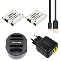 Batmax NB 11L NB 11L Battery USB Dual Charger For Canon PowerShot A2300 IS A2400 IS