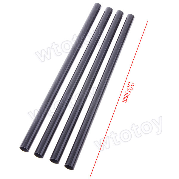 4 Pcs/Lot Carbon Fiber Tube 3K Twill 16mm Diameter 330mm Long for Quadcopter Multicoptor 20380 [sa]takenaka frs2053 fiber line genuine 2pcs lot