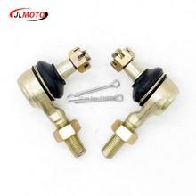 ФОТО 1 pair m12 lh&rh hand thread steering tie rod end fit for kawasaki kfx450r suzuki r450 yamaha raptor yfz450r yfm700 660 sf 500x6