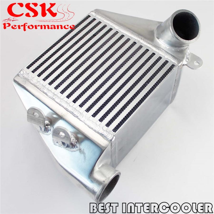 Bolt-On Side Mount Intercooler For VW 02-05 Jetta Golf GTI MK4 1.8t Turbo metal hood latch lock catch for vw jetta golf gti mk4 gl glx tdi
