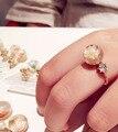 2016 Новейший Стеклянный Шар С Цветок Кольца Для Женщин