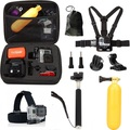 GoPro Accessories Set Head Chest strap harness monopod selfie stick for  Gopro Hero4 /3+/3/2 and SJ4000 SJ5000 Xiaomi yi Camera