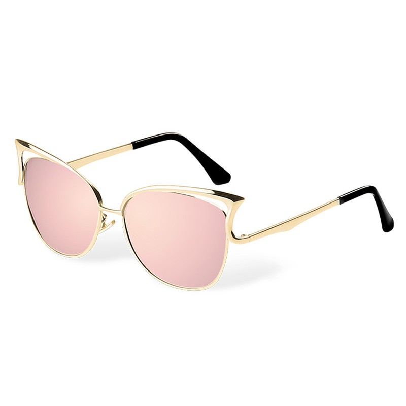 HTB1VmQnSFXXXXcAXFXXq6xXFXXXD - KIKI Women Sunglasses Polarized Retro Cat Eyes Metal Driving Gold Sun Glasses Brand Designer UV400 oculos de sol feminino