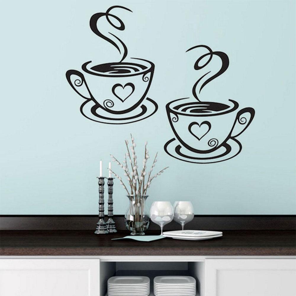 HTB1VmQqdaLN8KJjSZFvq6xW8VXac - Wall Sticker Coffee Cups For Kitchen