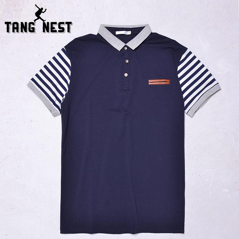 Tangnest Business Polo 2019 Sommer Schlanke Gestreiften Männer Polo-shirt Heißer Verkauf Kurz-sleeve Polo Shirt Männer Gute Qualität Mtp475 Rheuma Lindern