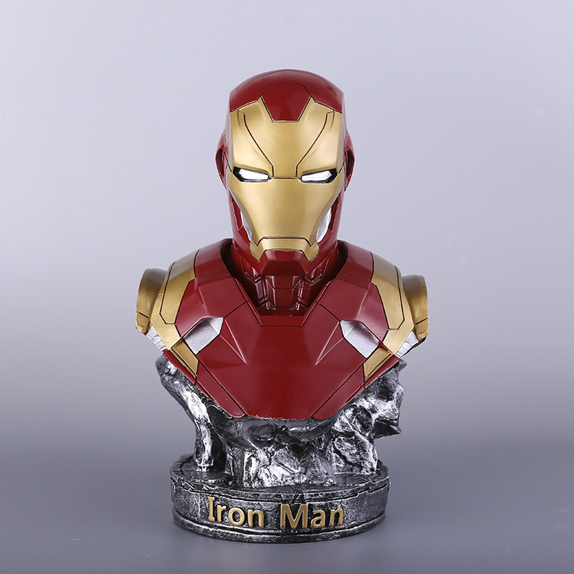 36cm The Avengers Hero Iron Man MK46 Action Figure Resin Figure Statue Toys Collection Model Bookshelves Desk Ornaments36cm The Avengers Hero Iron Man MK46 Action Figure Resin Figure Statue Toys Collection Model Bookshelves Desk Ornaments
