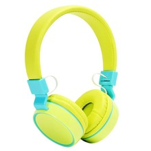 High Quality Wired Headphone Colorful Portable Headsets Foldable with Microphone for Smartphone MP4 MP3 PC Laptop Child Girl Boy