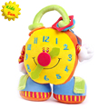 Alarm Clock Infant baby toys educational early learning play spiral Plush Intelligence Baby Rattles & Mobiles High Quality