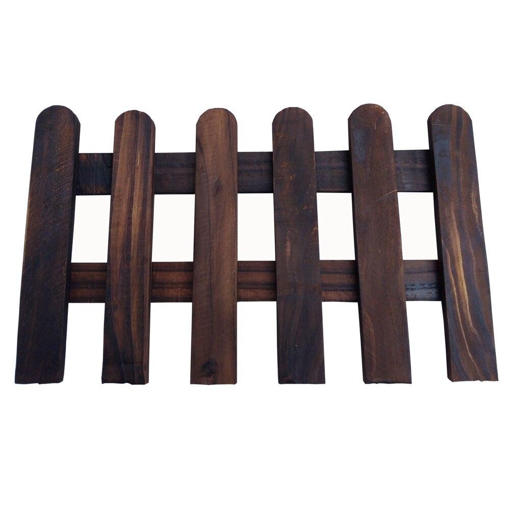 50 30cm L H Decorative Garden Fence Wood Fence Rustic Flower Bed