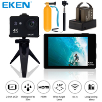 Original EKEN W9s 4K Full HD Wifi Waterproof Sports Camera With 4K 10fps 1080P 30fps Video