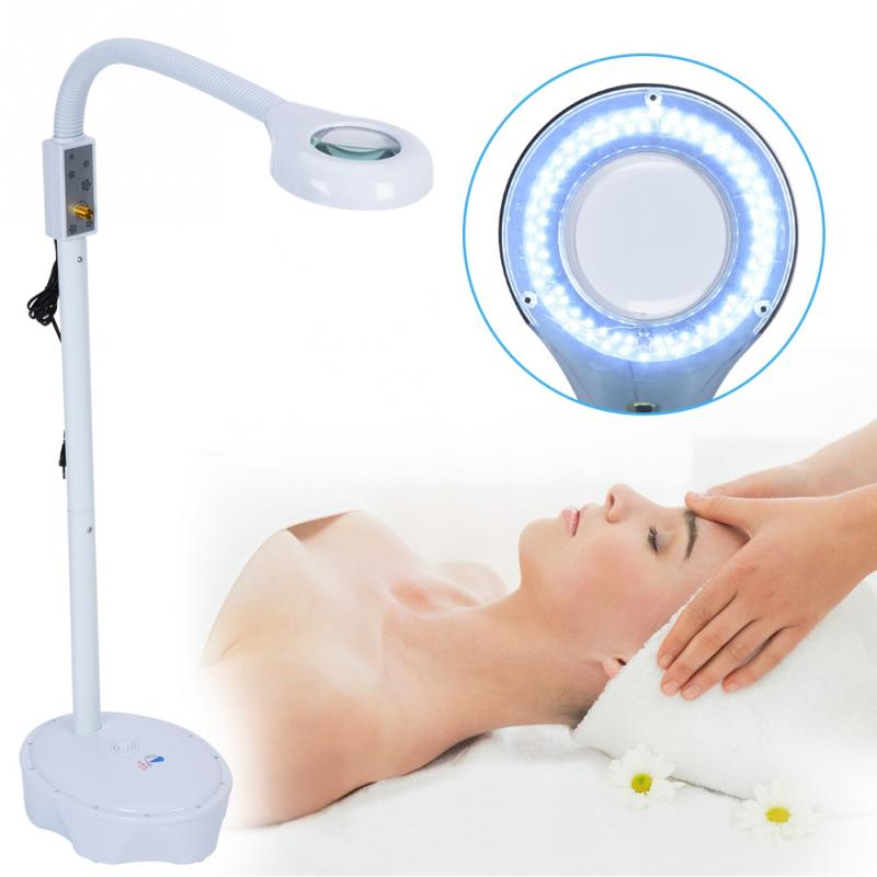Magnifying LED Floor Lamp with Stand for Cosmetology ...