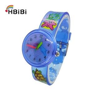 New Changeable pattern Dolphin fish kids watches Fashion boys Girls  clock Sports Children Watch waterproof Quartz Wristwatches