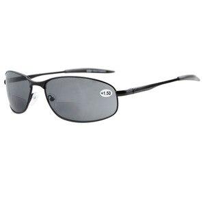 Image 2 - S15003 Bifokale Eyekepper Metallrahmen Outdoor Bifokale Sonnenbrille + 1,0/+ 1,5/+ 2,0/+ 2,5/+ 3,0