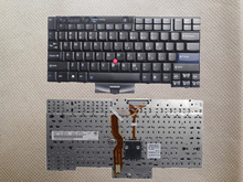 Original Black US laptop Keyboard For Lenovo T410 T410S T400S T520 T420 X220 W500 T510 W510