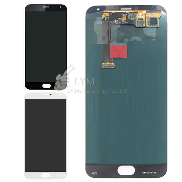 "Black White LCD+TP for Meizu MX5 MX 5 5.5"" LCD Display+Touch Screen Digitizer Assembly Replacement Parts Free Shipping+Tools"