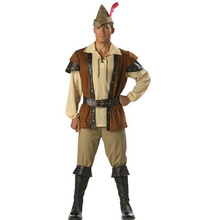 ФОТО  Man Robin Hood Halloween Costume Cosplay   Movie Role Fancy Carnival Clothing Without The Shoes Uniform
