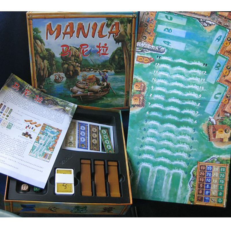 Manila Classic board games 1 10 Players Family Game For Children With Parents Funny Puzzle Game for Gift