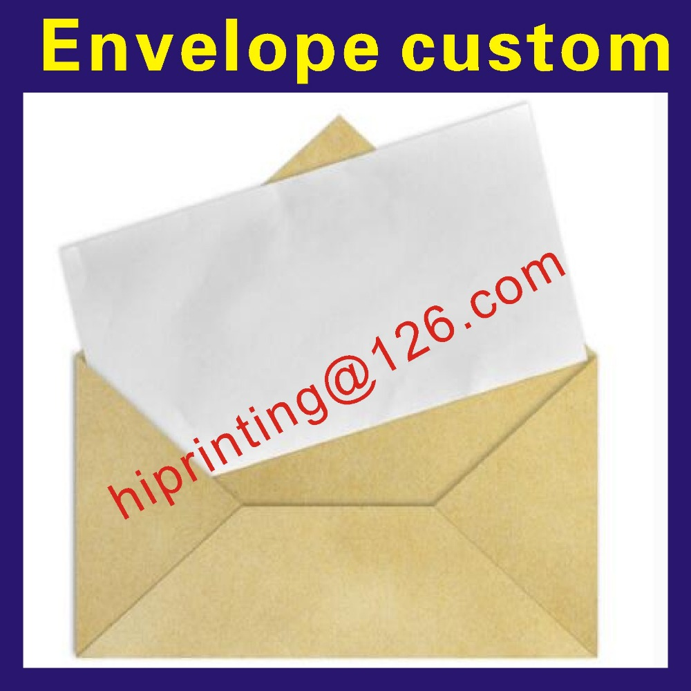 Eco friendly cheap <font><b>paper</b></font> envelope gift card envelope image