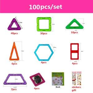 Image 3 - 90 182ピース/セットビッグ標準サイズ磁気モデル & ビルディングブロックレンガデザイナーおもちゃ16異なる子供のためのセット誕生日ギフト