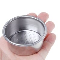 ¡Novedad! cesta de filtro de café no presurizado de acero inoxidable de calidad duradera Piezas de la máquina de café     -