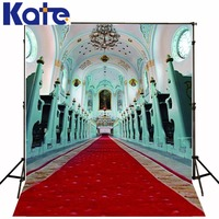 300Cm*200Cm(About 10Ft*6.5Ft)T Background Red Carpet Palace Photography Backdropsthick Cloth Photography Backdrop 3288 Lk