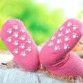 Recém-nascidos 0-1-2 Anos Meias Bebê Menina Menino Antiderrapante Meias Infantil crianças Meias Crianças Meias Curtas para o bebê unisex algodão criança sox