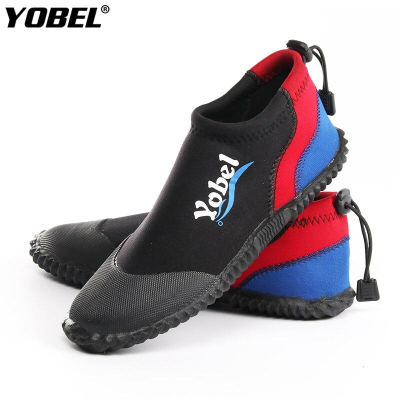 3Mm SCR Neoprene Vulcanization  dive boots Cold proof Anti slip Skid Keep warm Diving shoes Fishing Winter swim Fins