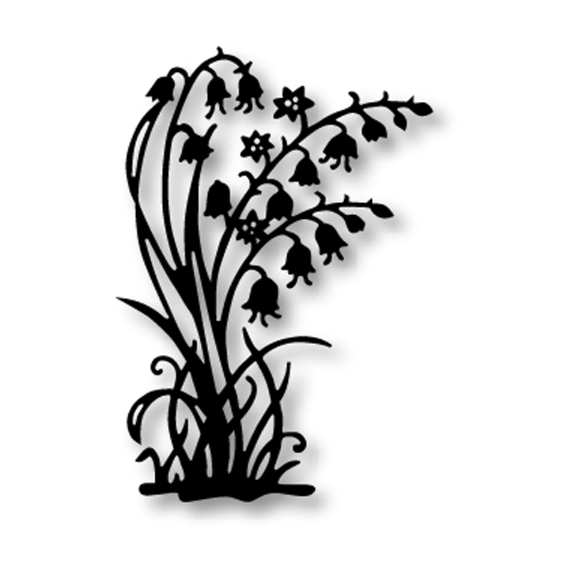 Hamyho Lily Of The Valley Metal Cutting