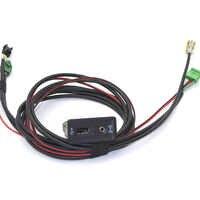 Coche AUX CarPlay MDI USB AMI instalar enchufe + arnés para VW GOLF 7 MK7 5G0 035 222 E