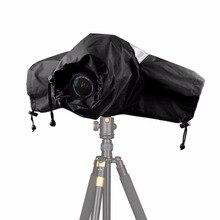 المهنية كاميرا مقاومة للماء غطاء للمطر حامي لكانون نيكون سوني بنتاكس الرقمية SLR كاميرات ، كبيرة ل المطر الترابية الرمال