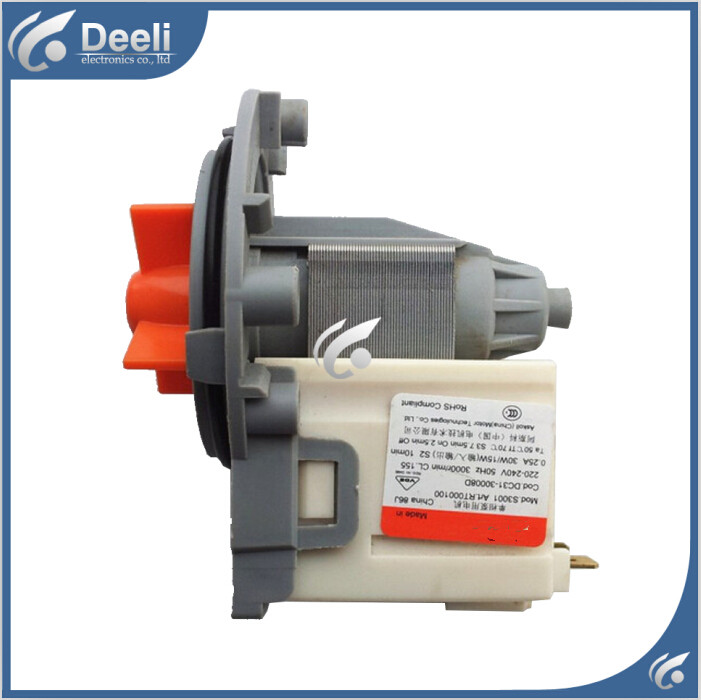 95% NEW Original for washing machine drain water pump WF-C863 WF-C963 WF-R1053 WF-R853 good working new for washing machine parts b30 6a drain pump motor 30w good working