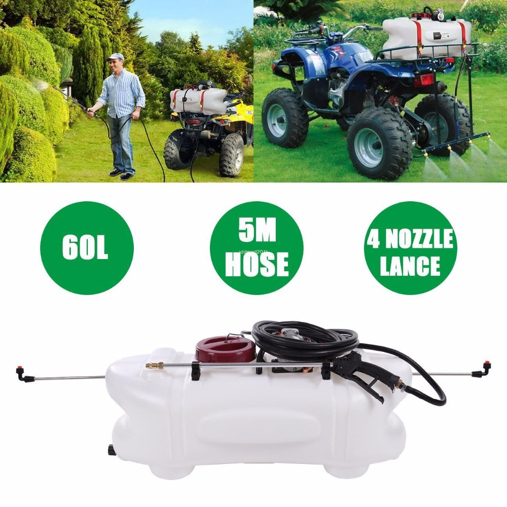 (Ship from AU) 60L ATV Weed Sprayer 2 in 1 Spray Tank & Pump With Boom 12V Garden Farm Spot live giant lighted ecosystem ant habitat shipped with 25 live ants now 1 tube of ants